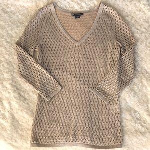 Armani Exchange Sweaters - SPARKLE ! Armani Exchange gold sweater Small